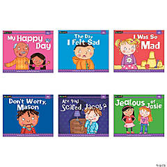 MySELF Reader, I Have Feelings, Small Book, Single Copy Set, Set of 6