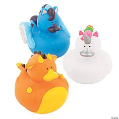 Mystical Creatures Rubber Duckies