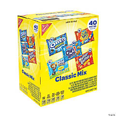 NABISCO Cookie & Cracker Classic Mix Variety - 40 Pieces