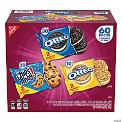 Nabisco Cookie Variety Pack, 60 Count