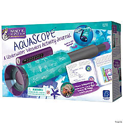 Nancy B's Science Club AquaScope and Underwater Wonders Activity Journal