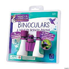 Nancy B's Science Club® Binoculars and Wildlife Activity Journal