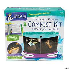 Nancy B Science Club Garbage Garden Compost Kit