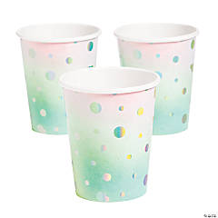 Narwhal Party Cups
