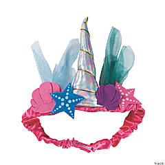 Narwhal Party Headband Crown