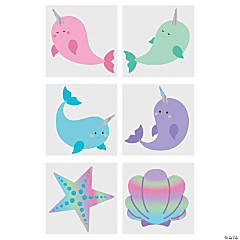 Narwhal Temporary Tattoos