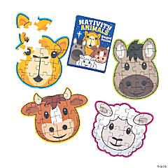 Nativity Animal Puzzles
