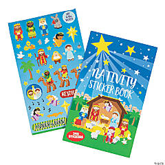 Nativity Books of Stickers