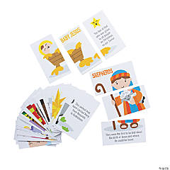 Nativity Characters Puzzle Card Set