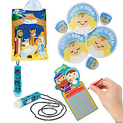 Nativity Cheer Bag Handouts Kit for 36
