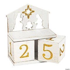 Nativity Countdown Blocks