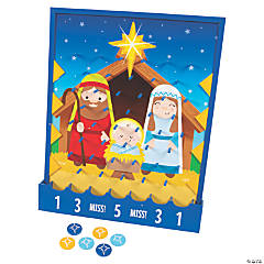 Nativity Disc Drop Game