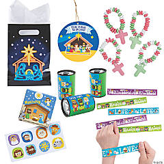 Nativity Goody Bag Kit for 48