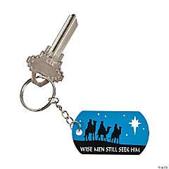Nativity Keychains