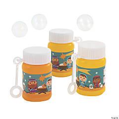 Nativity Mini Bubble Bottles - 24 Pc.