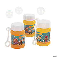 Nativity Mini Bubble Bottles
