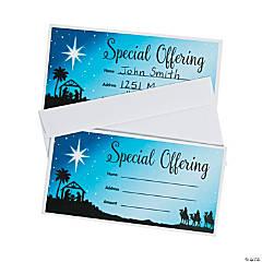Nativity Offering Envelopes