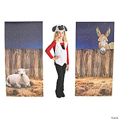 Nativity Pageant Backdrop Panel Stand-Ups