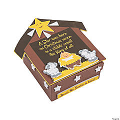 Nativity Prayer Box Craft Kit