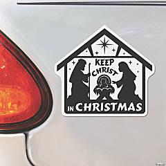 Nativity Scene Car Magnets