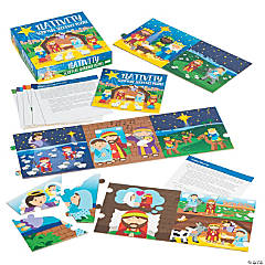 Nativity Scripture Sequence Puzzle