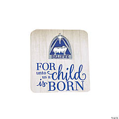 Nativity Silhouette Pins on Cards