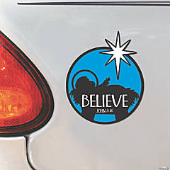 Nativity Star Car Magnets