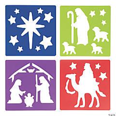 Nativity Stencils