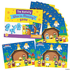 Nativity Who Is Missing Game