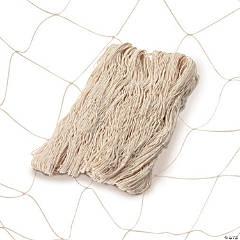 Natural Cotton Fish Nets - 6 Pc.