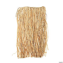 Natural Raffia Adult's Hula Skirt