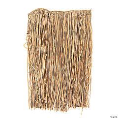 Natural Raffia Plus-Size Hula Skirts