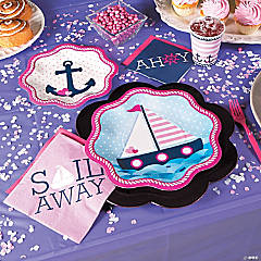 Nautical Girl Basic Party Pack