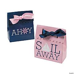 Nautical Girl Favor Boxes