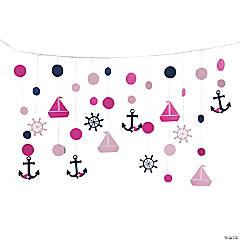 Nautical Girl Hanging Decoration