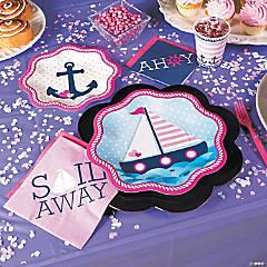 Nautical Girl Party Supplies
