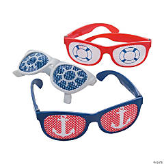 Nautical Pinhole Glasses