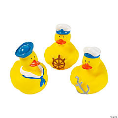 Nautical Rubber Duckies