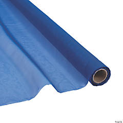 Navy Blue Voile Sheer Fabric Roll