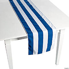 Navy Striped Table Runners