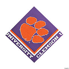 NCAA™ Clemson Lunch Napkins
