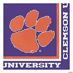 NCAA Clemson University Napkins 60 Count