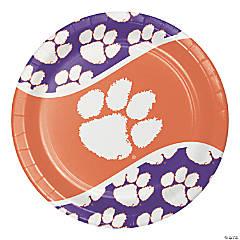 NCAA Clemson University Paper Plates 24 Count