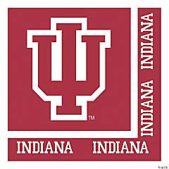 NCAA Indiana University Napkins 60 Count