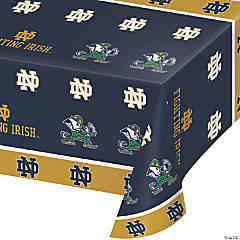 NCAA Notre Dame Plastic Tablecloths 3 Count
