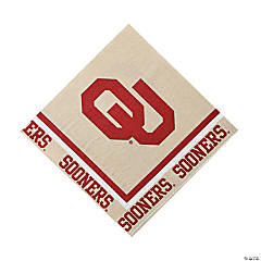 NCAA™ Oklahoma Sooners® Luncheon Napkins