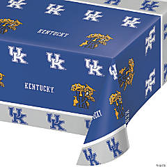 NCAA University of Kentucky Plastic Tablecloths 3 Count