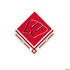 NCAA™ Wisconsin Beverage Napkins