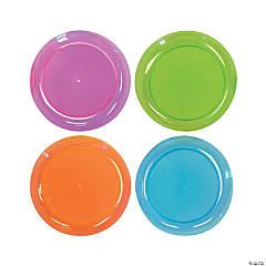 Neon Dessert Plates