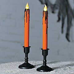 Neon Drip Candles Halloween Decoration